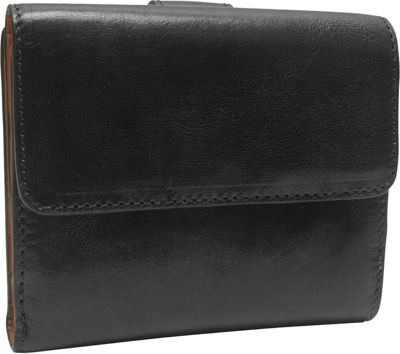 TUSK LTD Tuscany Indexer Wallet Black - TUSK LTD Ladies Small Wallets