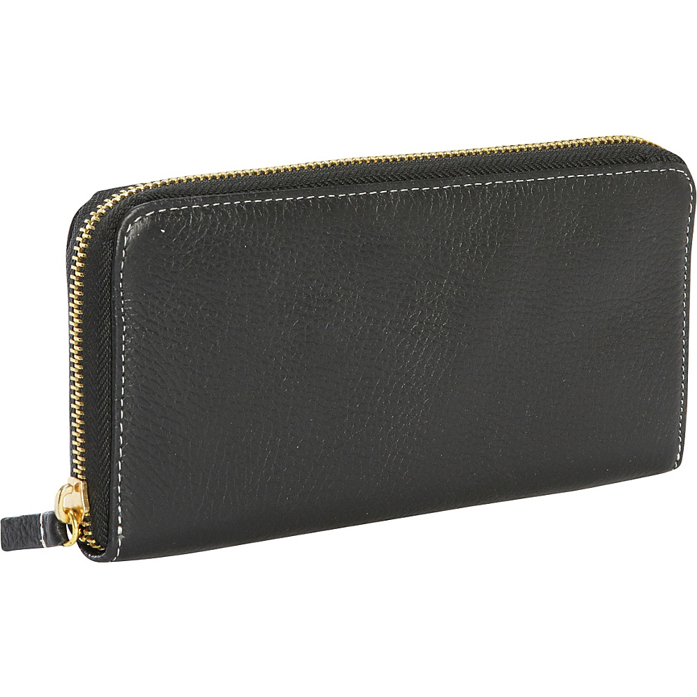 Clava Zippy Clutch Wallet Black Clava Women s Wallets