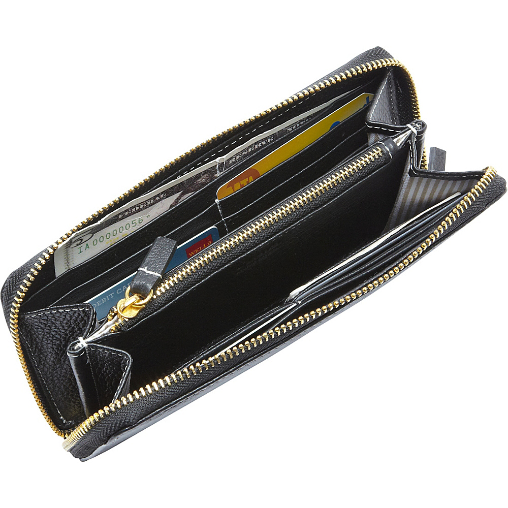 Clava Zippy Clutch Wallet Black - Clava Women's Wallets