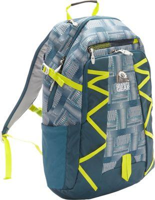 Granite Gear Manitou Backpack Dotz/BasaltBlue/Neolime - Granite Gear School & Day Hiking Backpacks