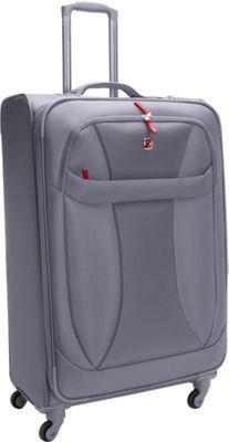 Wenger Travel Gear Lightweight 29 inch Spinner Grey - Wenger Travel Gear Softside Checked
