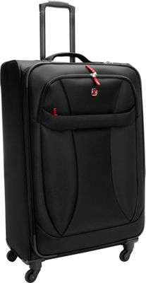 Wenger Travel Gear Lightweight 29 inch Spinner Black - Wenger Travel Gear Softside Checked