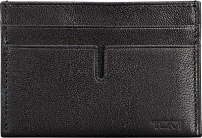 Tumi Chambers Slim Card Case Black - Tumi Men's Wallets