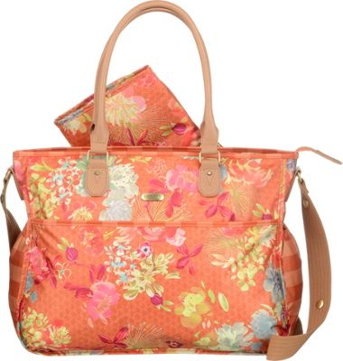 Oilily Tropical Baby Bag Orange - Oilily Diaper Bags