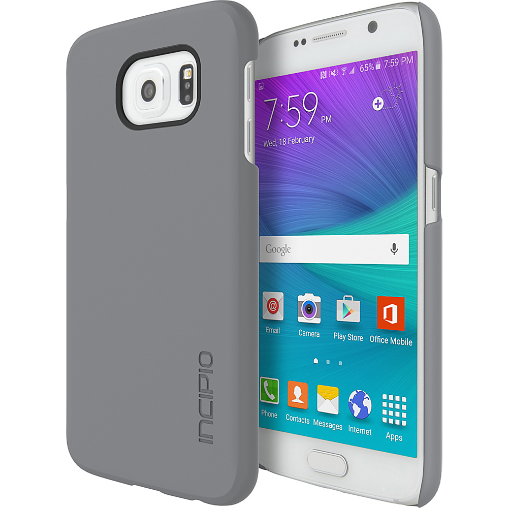 Incipio Feather for Samsung Galaxy S6 Charcoal - Incipio Electronic Cases - Technology, Electronic Cases