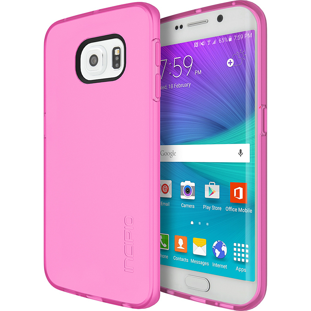 Incipio NGP for Samsung Galaxy S6 Edge Translucent Neon Pink - Incipio Electronic Cases - Technology, Electronic Cases