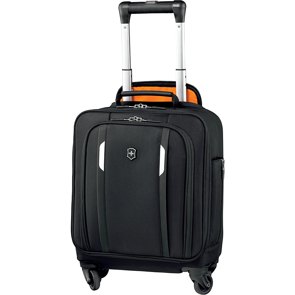 Victorinox Werks Traveler 5.0 WT Wheeled Underseat Tote Black - Victorinox Softside Carry-On