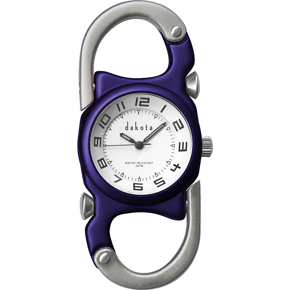 Dakota Watch Company Double Clip Watch Blue with Silver - Dakota Watch Company Watches