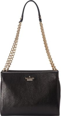 kate spade new york Emerson Place Smooth Mini Convertible Black - kate spade new york Designer Handbags