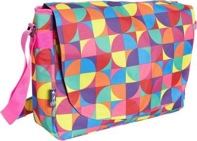 Wildkin Pinwheel Laptop Messenger Bag Pinwheel - Wildkin Messenger Bags