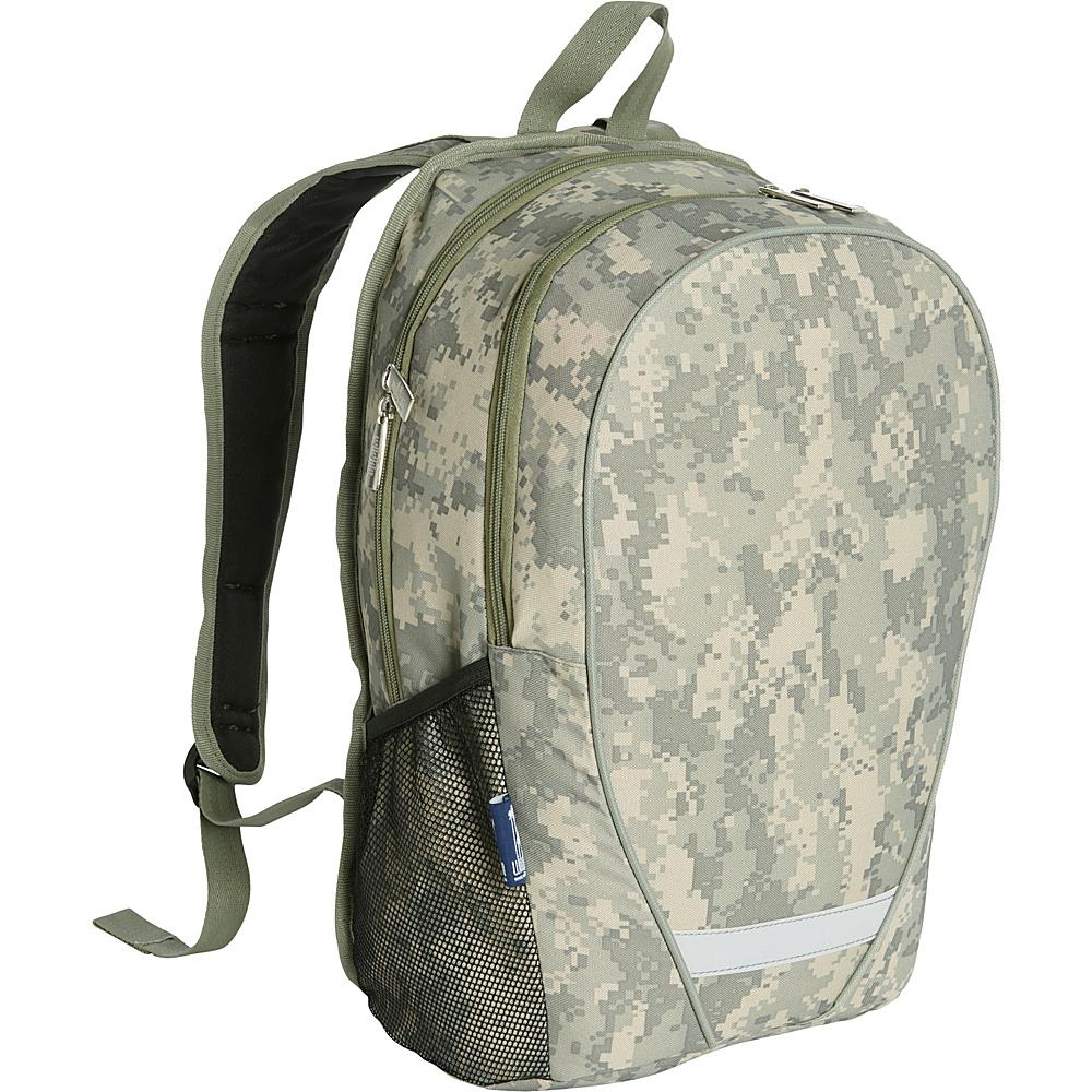 Wildkin Digital Camo Comfortpak Backpack Digital Camo - Wildkin School & Day Hiking Backpacks