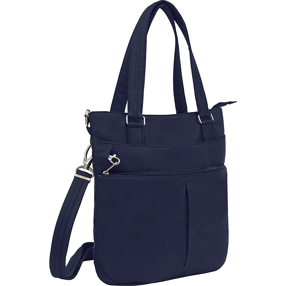 Travelon Anti-theft Classic Light Tote Lush Blue/Turquoise - Travelon Fabric Handbags - Handbags, Fabric Handbags