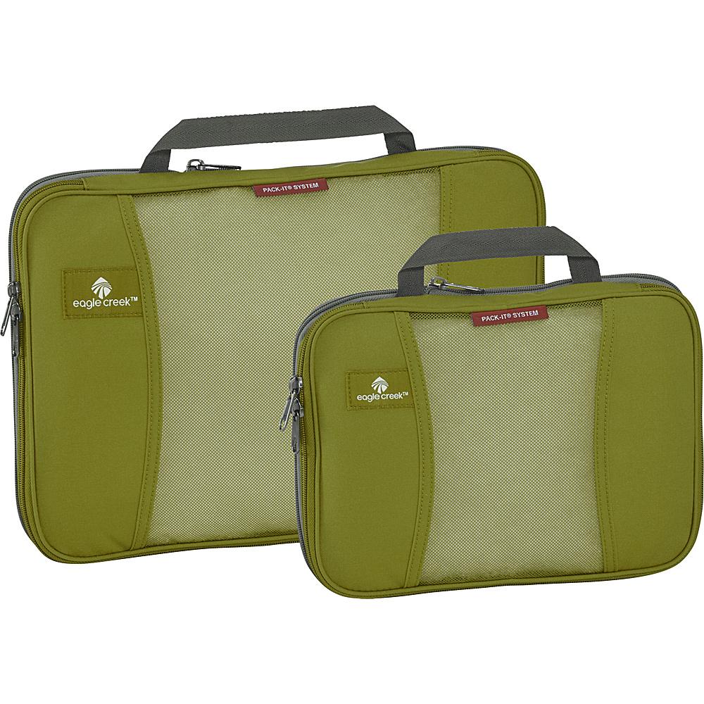Eagle Creek Pack-It Original 2-Piece Compression Cube Set Fern Green - Eagle Creek Travel Organizers - Travel Accessories, Travel Organizers