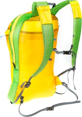 Granite Gear Go and Stow Travel Pack Yellow/Green - Granite Gear Day Hiking Backpacks