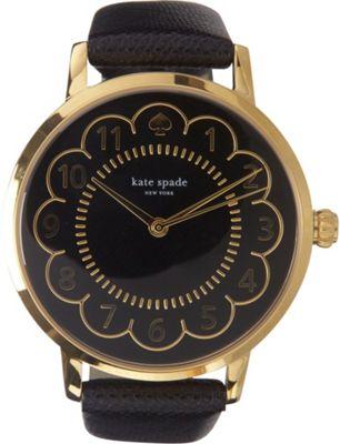 kate spade watches Scallop Metro Watch Black - kate spade watches Watches