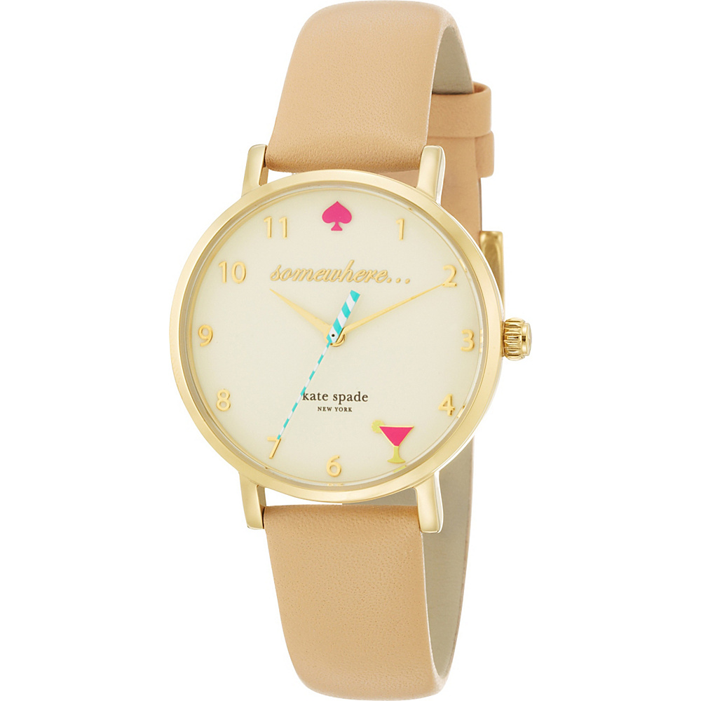kate spade watches 5 O Clock Metro Tan kate spade watches Watches