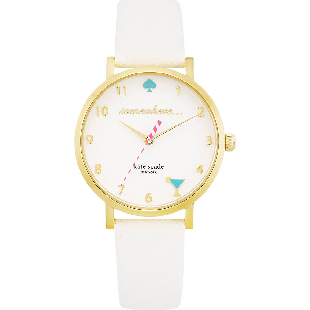 kate spade watches 5 O Clock Metro White kate spade watches Watches