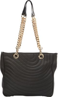 Tiffany & Fred Randy Shoulder Bag Black - Tiffany & Fred Leather Handbags