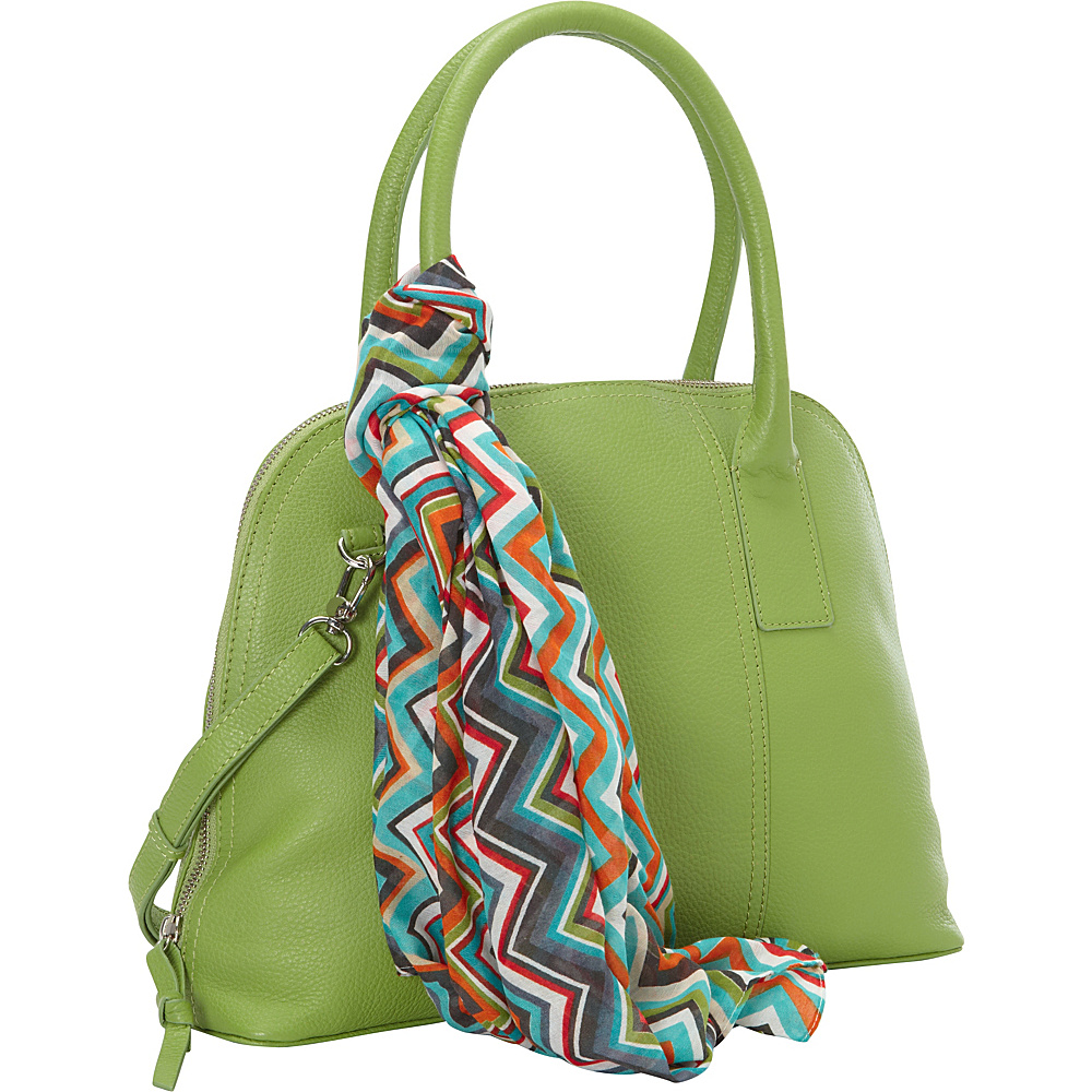 Hadaki Hannahs Bowling Bag Piquat Green - Hadaki Leather Handbags - Handbags, Leather Handbags