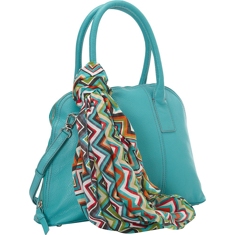 Hadaki Hannahs Bowling Bag Viridian Green - Hadaki Leather Handbags - Handbags, Leather Handbags