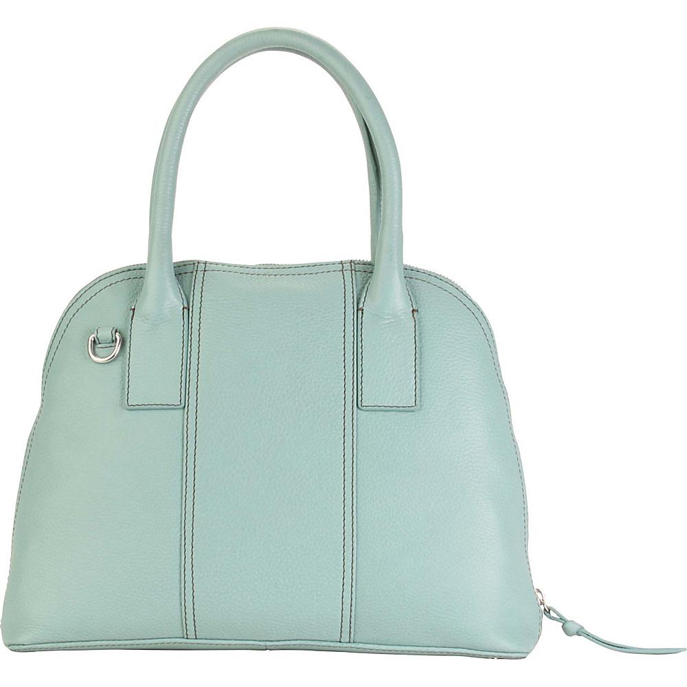 Hadaki Hannahs Bowling Bag Aquifer - Hadaki Leather Handbags - Handbags, Leather Handbags