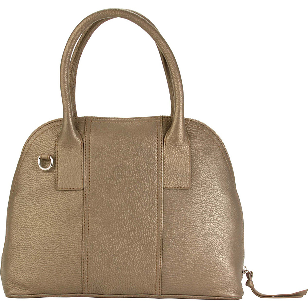 Hadaki Hannahs Bowling Bag Bronze - Hadaki Leather Handbags - Handbags, Leather Handbags