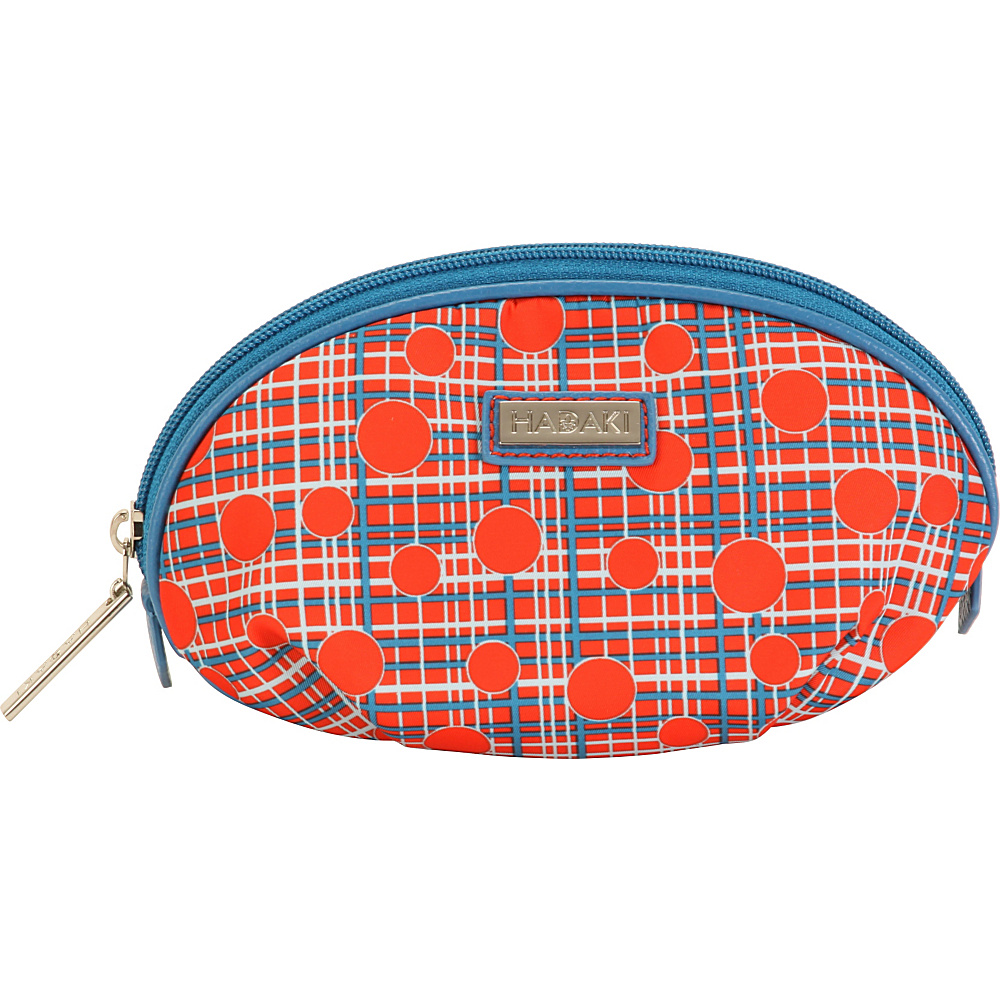 Hadaki Origami Cosmetic Pouch Fiery Red Plaid - Hadaki Womens SLG Other - Women's SLG, Women's SLG Other
