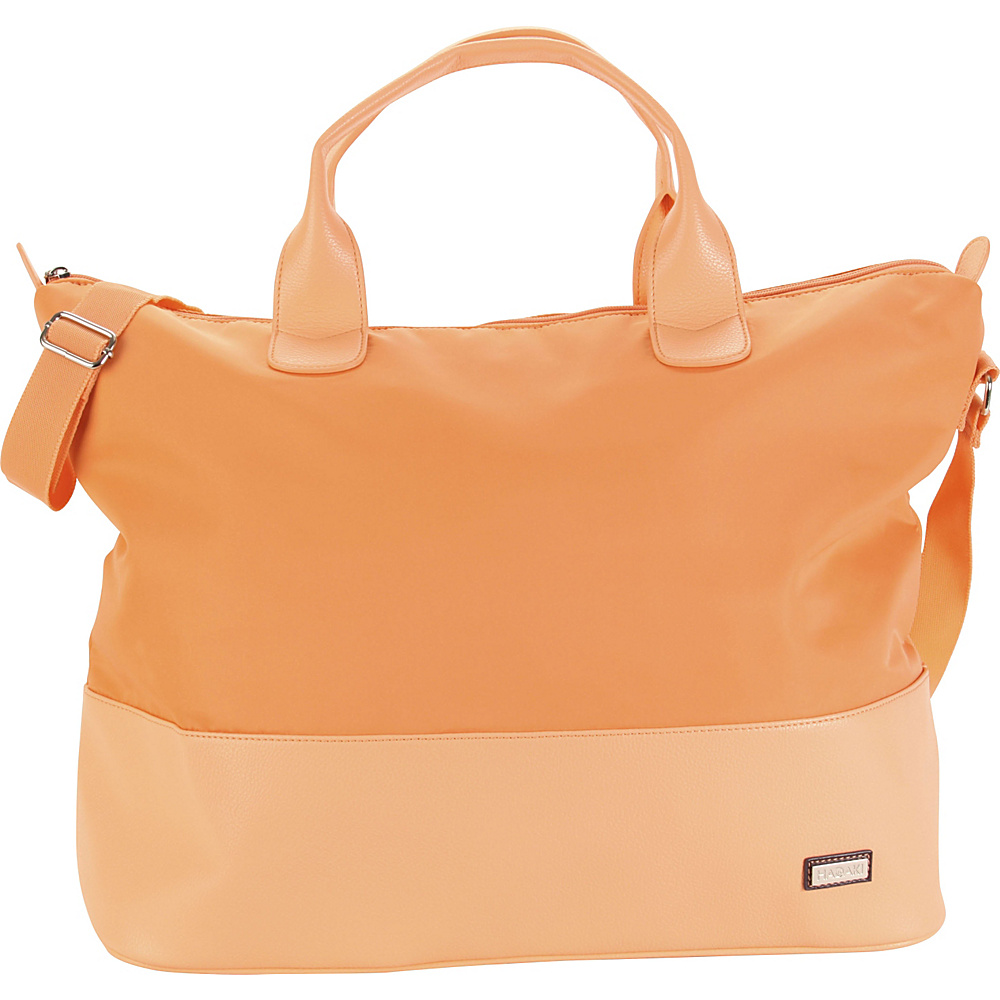 Hadaki Hamptons Tote Melon Solid - Hadaki Luggage Totes and Satchels - Luggage, Luggage Totes and Satchels