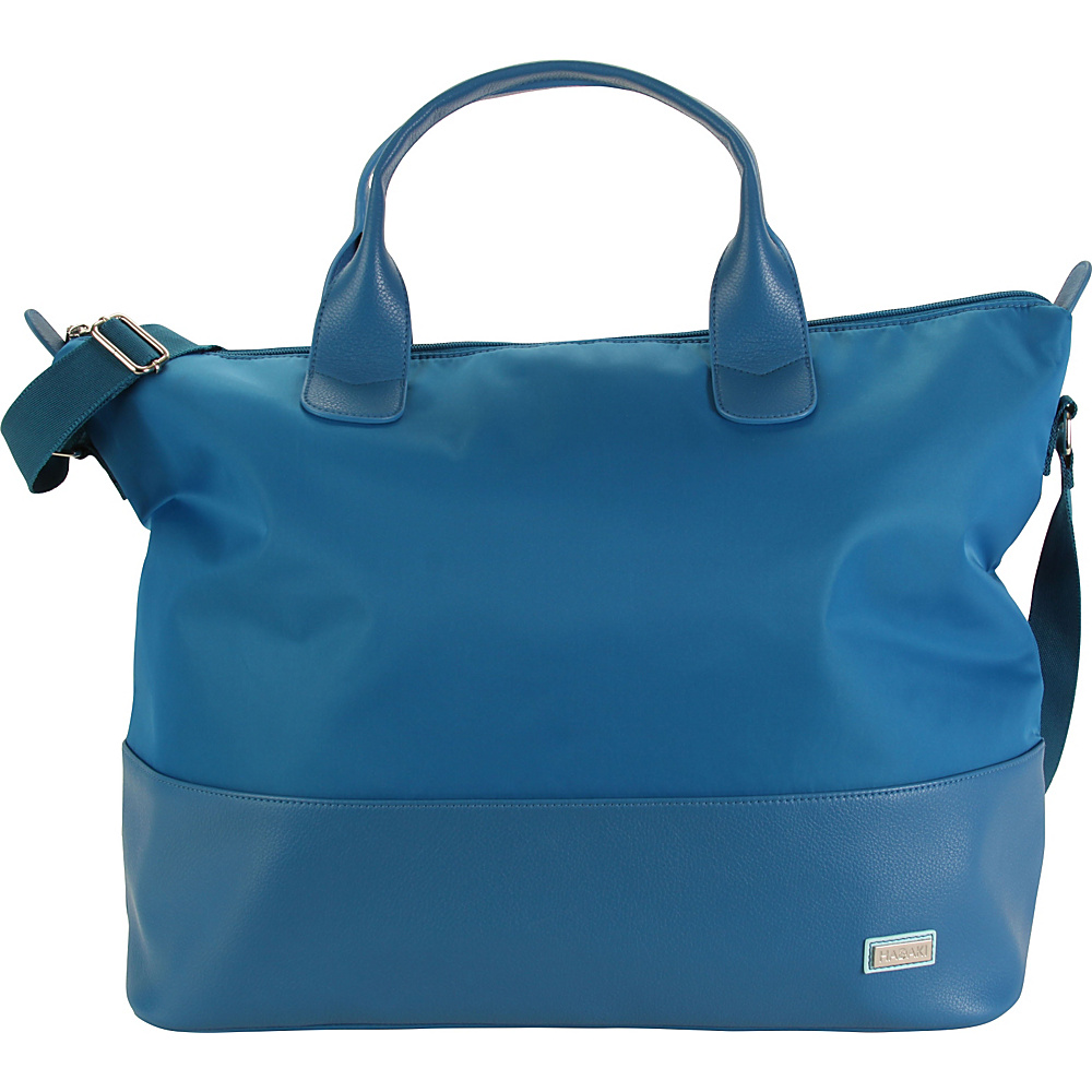 Hadaki Hamptons Tote Ocean Solid - Hadaki Luggage Totes and Satchels - Luggage, Luggage Totes and Satchels