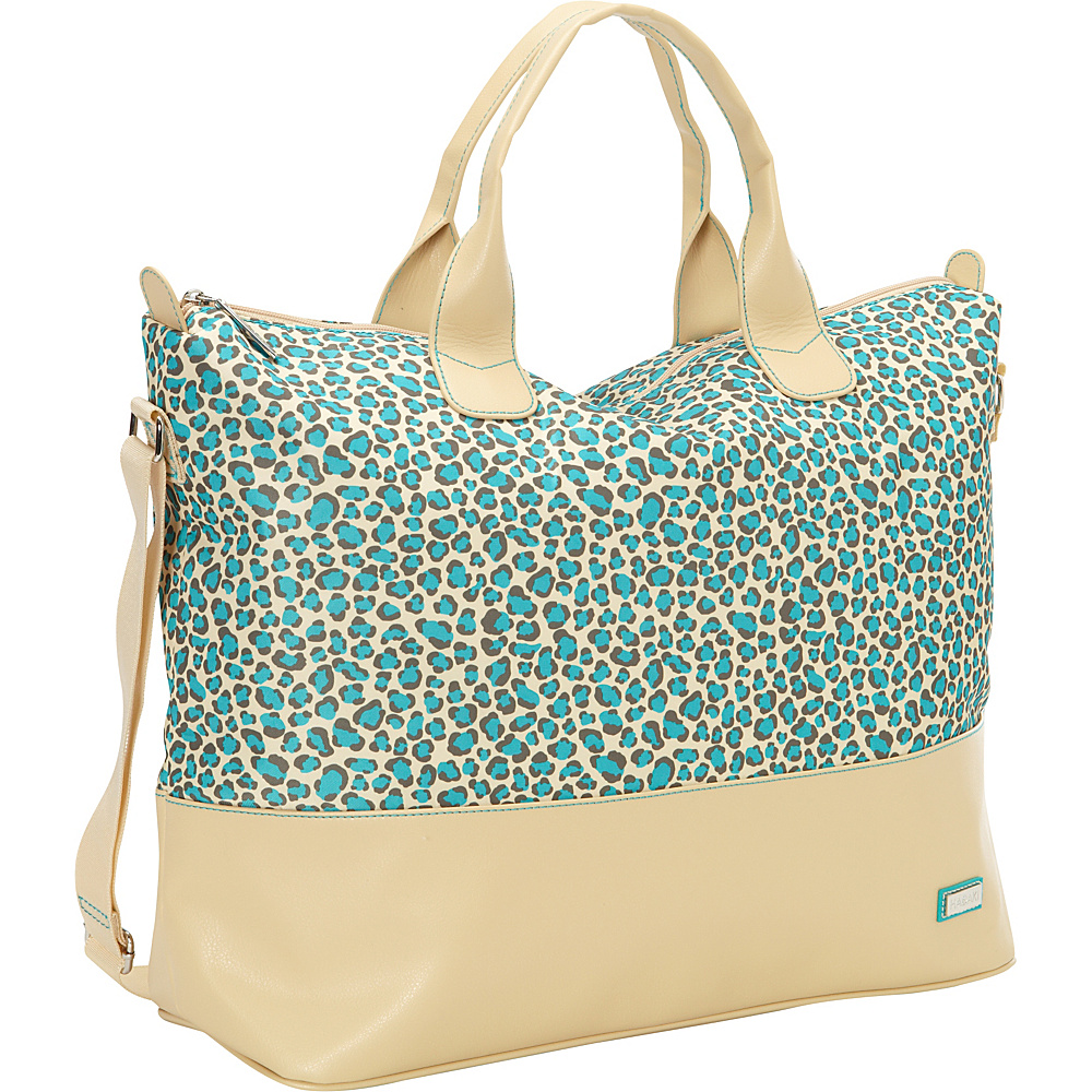 Hadaki Hamptons Tote Primavera Cheetah - Hadaki Luggage Totes and Satchels - Luggage, Luggage Totes and Satchels