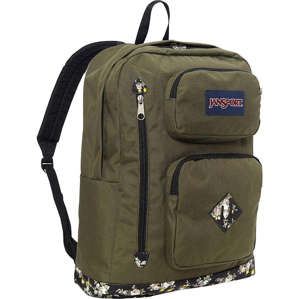 JanSport Austin Backpack Multi Midnight Bouquet - JanSport School & Day Hiking Backpacks - Backpacks, School & Day Hiking Backpacks
