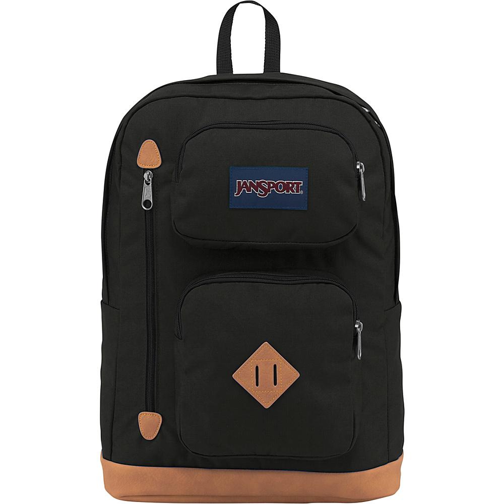 JanSport Austin Backpack Black - JanSport Everyday Backpacks