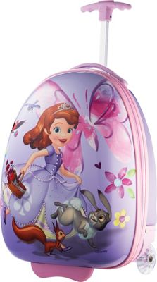 "Image of American Tourister Disney 18"" Upright Hardside Sofia the First - American Tourister Hardside Luggage"
