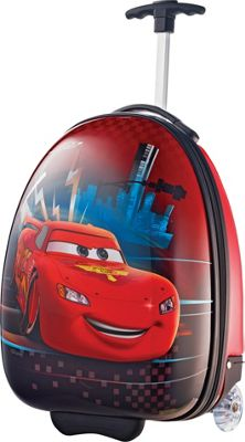 "Image of American Tourister Disney 18"" Upright Hardside Cars - American Tourister Hardside Luggage"