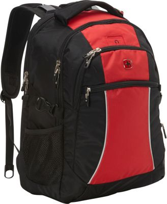 SwissGear Travel Gear Laptop Backpack 6688 Red Course/ Black - SwissGear Travel Gear Business & Laptop Backpacks