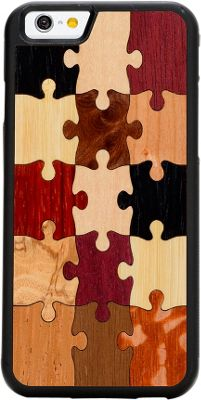 Carved Wood Traveler Phone Case for iPhone 6/6s Random Puzzle - Carved Personal Electronic Cases
