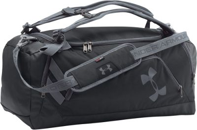 Under Armour Contain Backpack Duffel II Black / Black / Graphite - Under Armour All Purpose Duffels