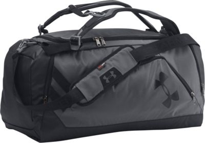 Under Armour Contain Backpack Duffel II Graphite/Black/Black - Under Armour Gym Duffels