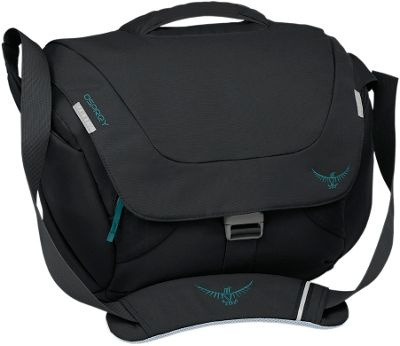 Osprey FlapJill Courier Black- DISCONTINUED - Osprey Messenger Bags