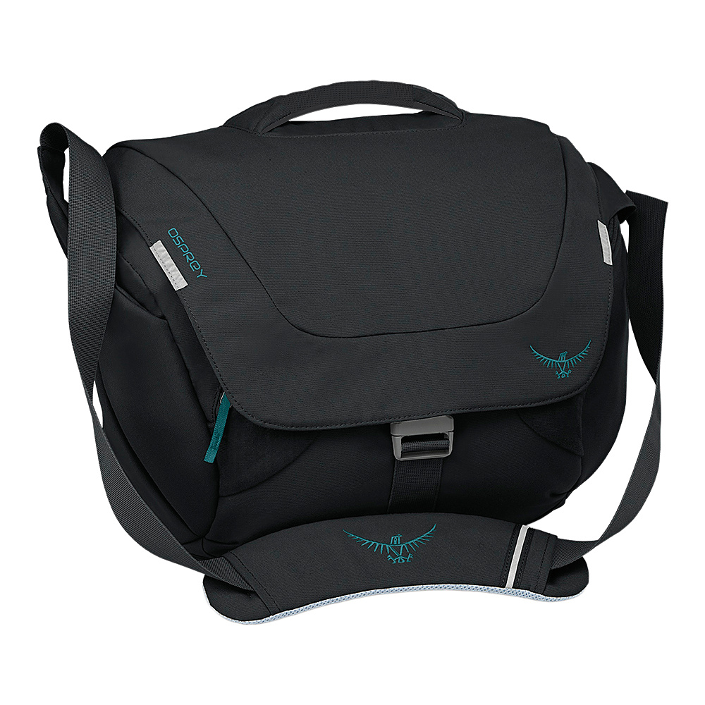 Osprey FlapJill Courier Black- DISCONTINUED - Osprey Messenger Bags - Work Bags & Briefcases, Messenger Bags