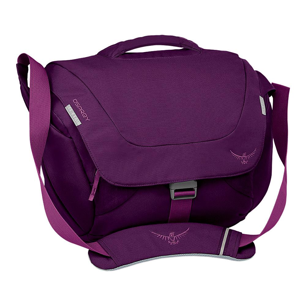 Osprey FlapJill Courier Dark Magenta - Osprey Messenger Bags - Work Bags & Briefcases, Messenger Bags