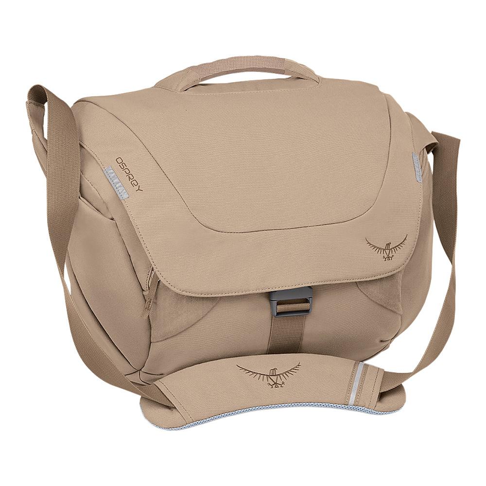 Osprey FlapJill Courier Desert Tan - Osprey Messenger Bags - Work Bags & Briefcases, Messenger Bags