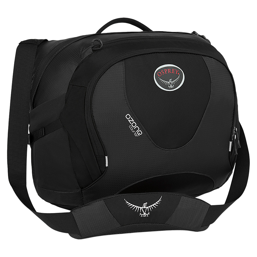 Osprey Ozone Courier Black- DISCONTINUED - Osprey Messenger Bags - Work Bags & Briefcases, Messenger Bags