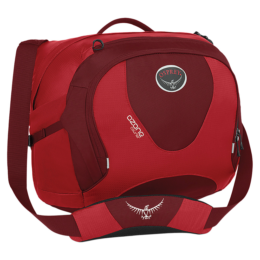 Osprey Ozone Courier Hoodoo Red- DISCONTINUED - Osprey Messenger Bags - Work Bags & Briefcases, Messenger Bags
