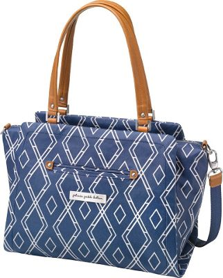Petunia Pickle Bottom Statement Satchel Indigo - Petunia Pickle Bottom Diaper Bags & Accessories