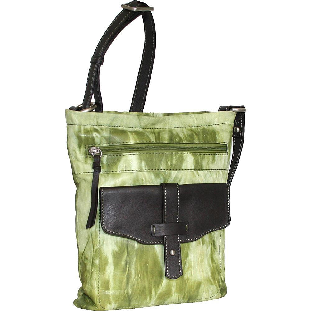 Nino Bossi Squeeze My Slim Crossbody Alpine Nino Bossi Leather Handbags
