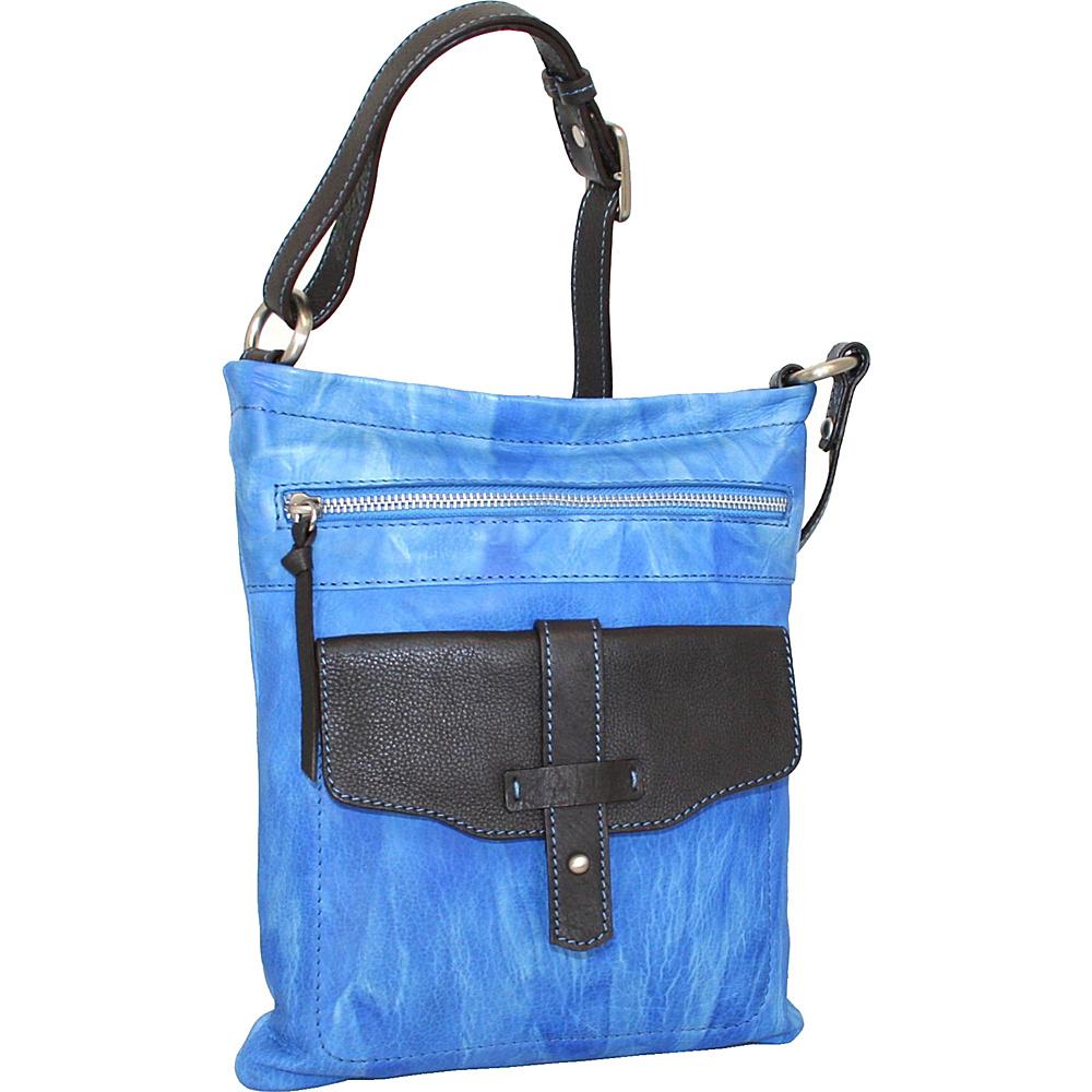 Nino Bossi Squeeze My Slim Crossbody Denim Nino Bossi Leather Handbags