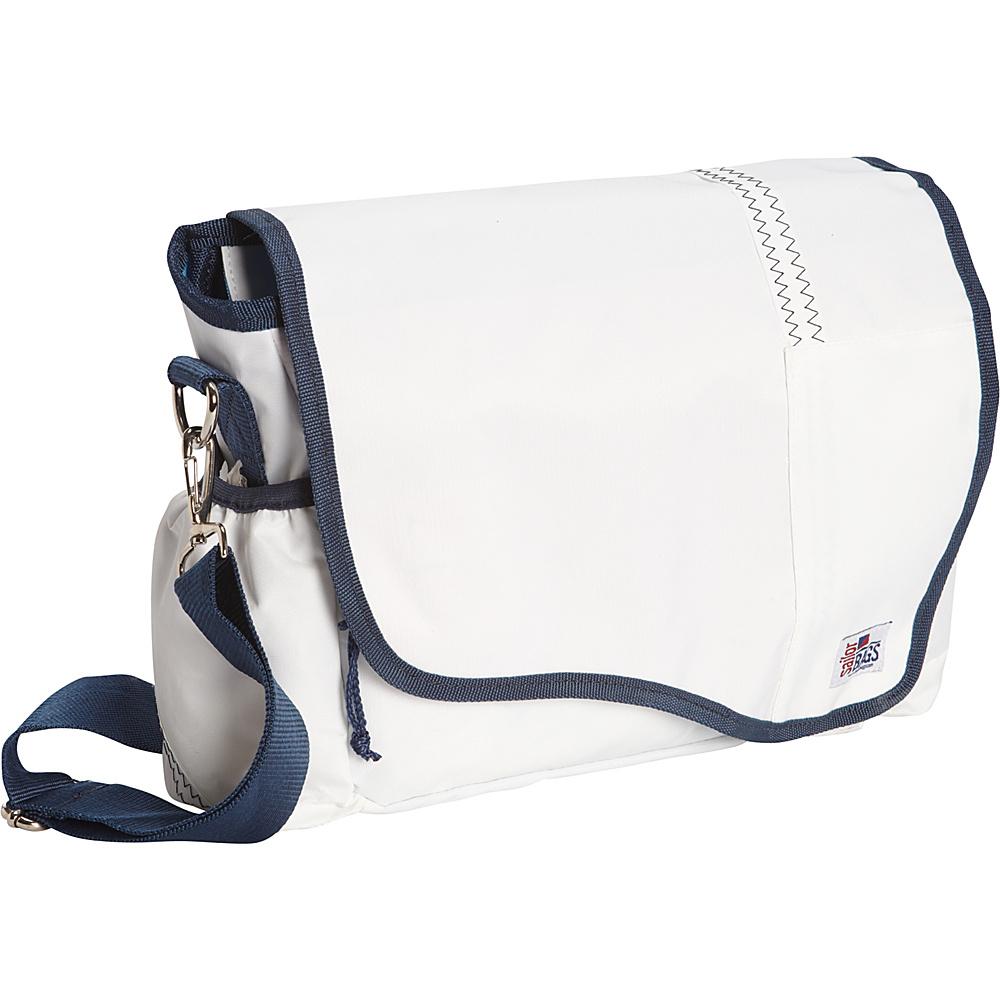 SailorBags Messenger Bag White Blue SailorBags Messenger Bags