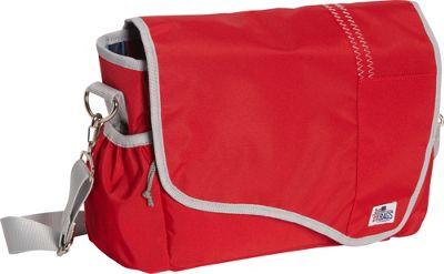 SailorBags Messenger Bag Red/Grey - SailorBags Messenger Bags