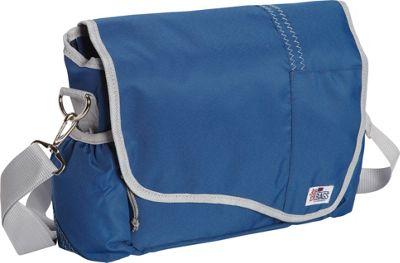 SailorBags Messenger Bag Blue/Grey - SailorBags Messenger Bags